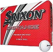 Srixon Distance Golf Balls, Soft White, One Dozen