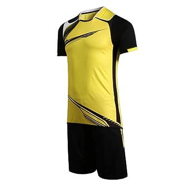 Inlefen Conjunto de fútbol Traje Corto Jersey Traje de ...