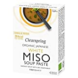 Clearspring Organic White Miso Instant Soup Paste - 4 x 15g (0.13lbs)