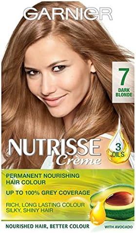 Garnier Nutrisse crema 7 Rubio Oscuro: Amazon.es: Salud y ...