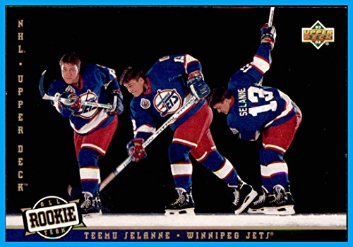 - 1993-94 Upper Deck #281 Teemu Selanne WINNIPEG JETS