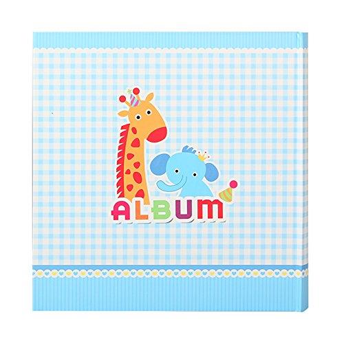 Coffret Fotoalbum De Geburt Giraffe blau f/ür 200/Fotos 10/x 15/cm