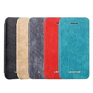 ZCL-Color sólido Ripple textura Dazzle color de cuero de la PU del caso del cuerpo completo con soporte para iPhone 5C (colores surtidos) , Color Caqui
