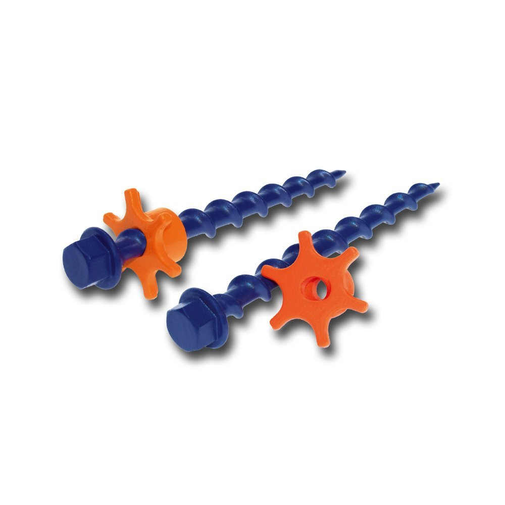 Set of 16 Peggy Peg PP99 Accessories with Stop Go Awnings Orange