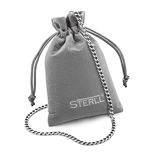 2904daa5a2ef Collar de plata para hombres de Sterll