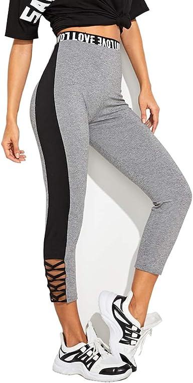 Femereina Pantalones Deportivos Para Mujeres Mallas De Jogger Con Medias Para Hacer Ejercicio Gimnasio Yoga Amazon Es Ropa Y Accesorios