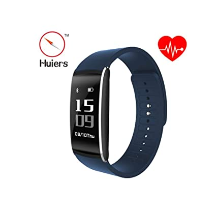 Amazon.com: WSJ Smart Curved Screen Bracelet, Heart Rate ...