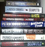 8 Volume Collection (Set) of Patricia Cornwell Novels Including: Scarpetta, Cause of Death, Southern Cross, the Front, At Risk, the Last Precinct, Blow Fly, the Body Farm
