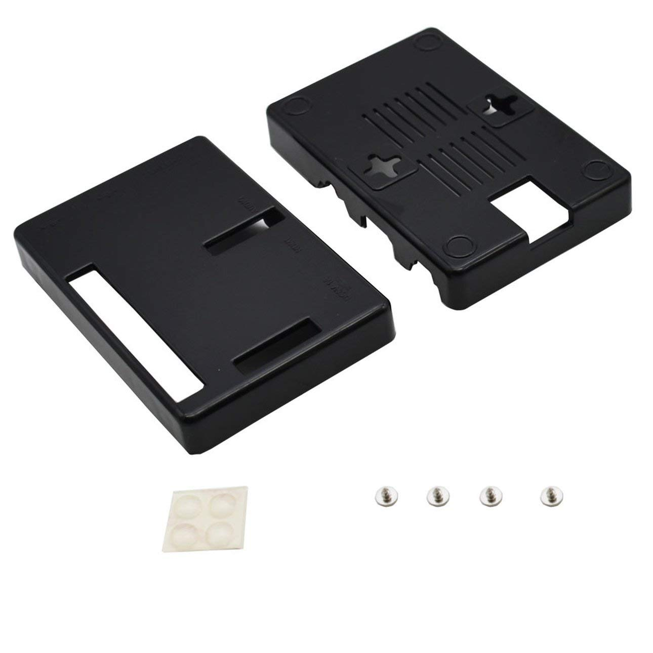 Liobaba Premium Black Case Boxes for Raspberry Pi 2 B Case Cover Enclosure Box ABS V2 Raspberry Pi Box