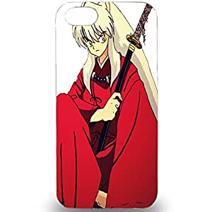 Japanese Anime Inuyasha Unique Design Anti-Scratch 3D Hard Plastic Case For Iphone 5 5S