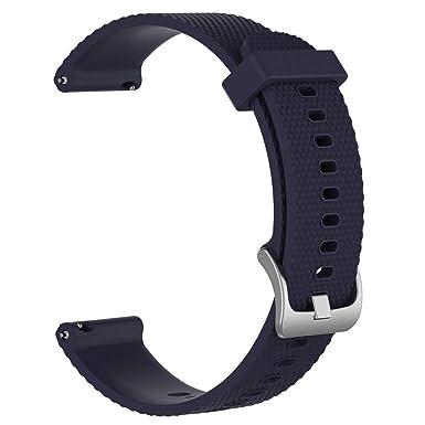 Huami AMAZFIT medidor versión Juvenil Correa Reloj, Honestyi Unisex Adulto Silicona,para repuestos de Relojes Inteligentes,Pulsera Ajustable de Repuesto: ...