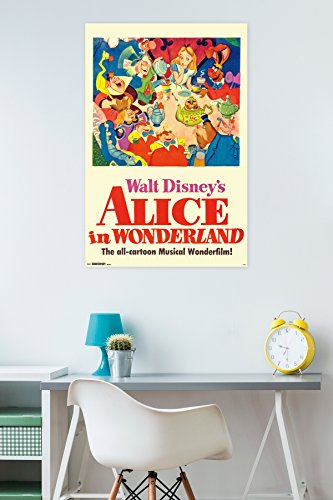 Trends International Alice in Wonderland One Sheet Collector