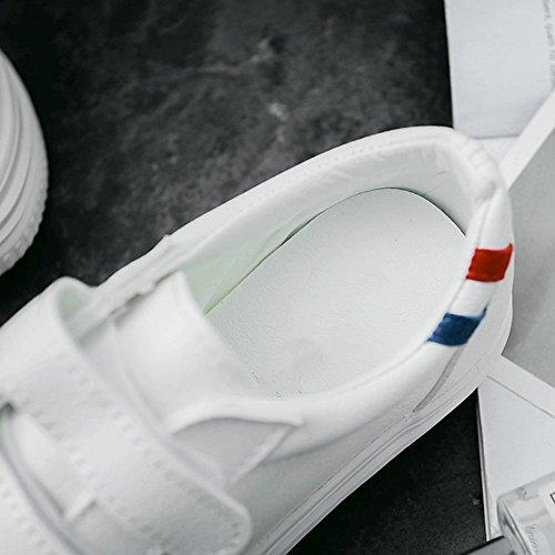 Fashion femmes taille 5 NAN Chaussures Bottom CN35 chaussures PU blanc Couleur été plat EU36 Blanc UK3 PgxYxq5Rw