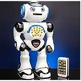 Sunshine Intelligent Robot - Disc Shooting + Song Singing + Dancing + Math Test + LED Lights