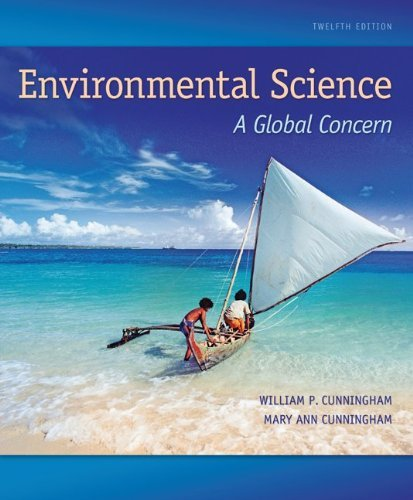 Environmental Science: A Global Concern 9th edition by Cunningham, William P., Cunningham, Mary Ann, Saigo, Barbara (2007) Hardcover (Environmental Science A Global Concern 9th Edition)