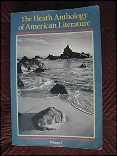 Book The Health Anthology of American Literture (1990-01-30)