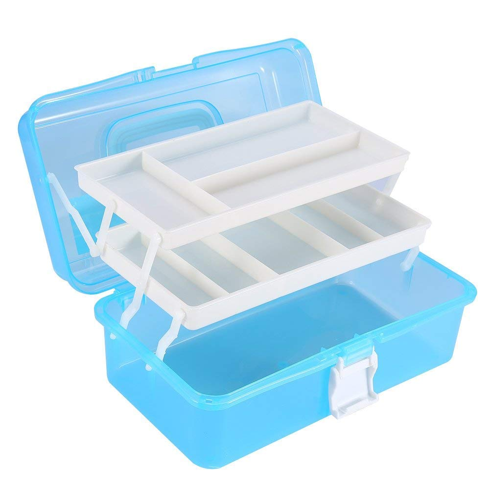 Multifunctional Makeup Cosmetic Tools Container Storage Organizer box Nail Art Manicure Case(L) Brino