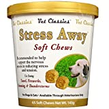 Stress Away for Dogs Cats (65 Soft Chews) by Garmon Corporation
