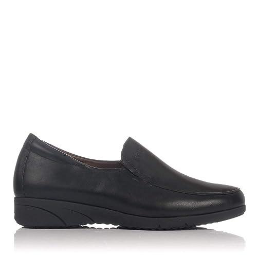 PITILLOS 2802 Zapato Mocasin Piel Mujer: Amazon.es: Zapatos y complementos