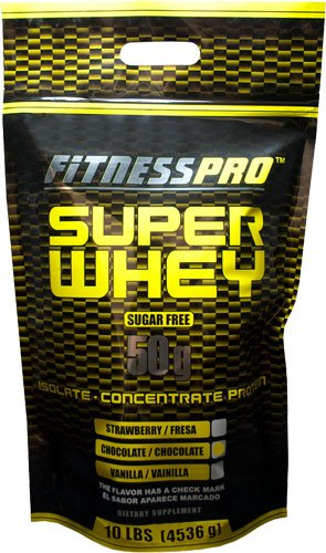 Fitness Pro Lab Inc. Super Whey, Chocolate, 10-Pound Fitness Health Lab