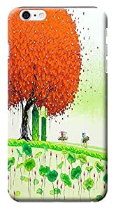 """Case / Cover had Oil Painting Trees Colorful Purple Red Green Forest Cell you Phone Cases For iPhone in 6 Plus (5.5"""") Hard Cases changed No.2"""