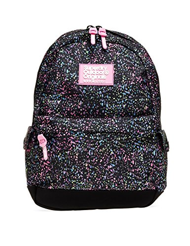 Superdry Women's Print Edition Montana Women's Black Backpack Black by Superdry