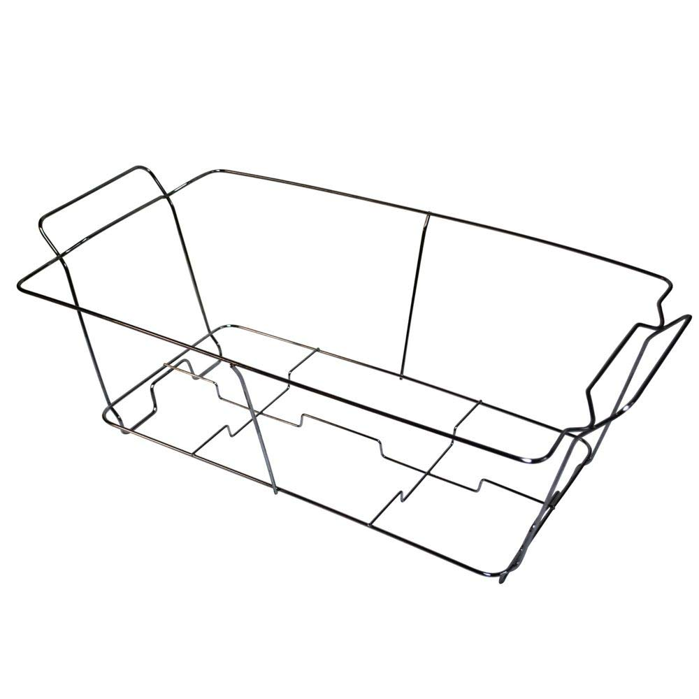 24 pk Wire Buffet Rack Chafer Warmer Stand Full Size Darling