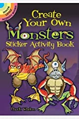 Create Your Own Monsters (Dover Little Activity Books Stickers) Paperback