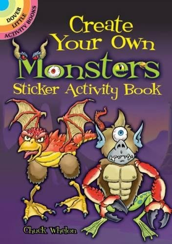 Create Your Own Monsters (Dover Little Activity Books Stickers) ()