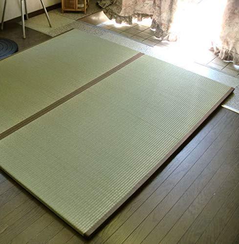 ユニット畳 い草 置き畳 6枚組 約82×164×3cm 全厚3cm 衝撃吸収 防音 軽量   B010NNNB86