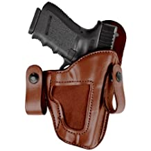 Bianchi 120 Covert Option Russet Size 11 Holster Fits Glock 19/23
