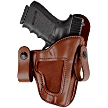 Bianchi 120 Covert Option Russet Size 12A Holster Fits S&W M&P .40