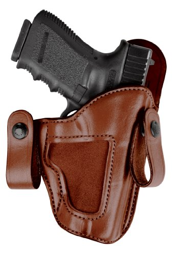 Bianchi 120 Covert Option Russet Size 12A Holster Fits S&W M&P .40 (Left Hand)