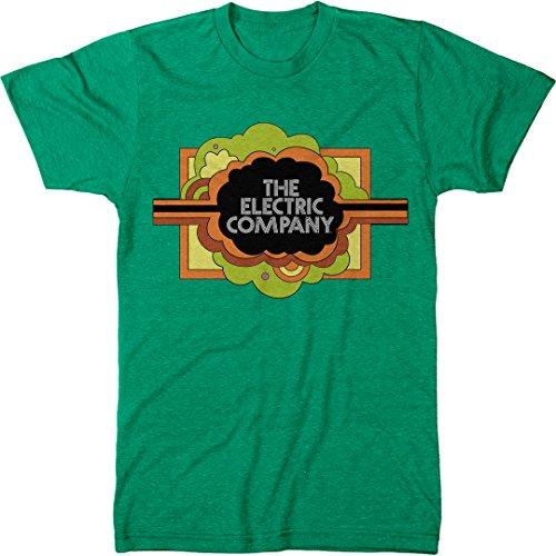 Trunk Candy Men's The Electric Company Premium Tri-blend T-shirt (Envy, Large) (70s Men Clothes)