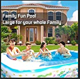 SOARRUCY Inflatable Swimming Pools for Kids and