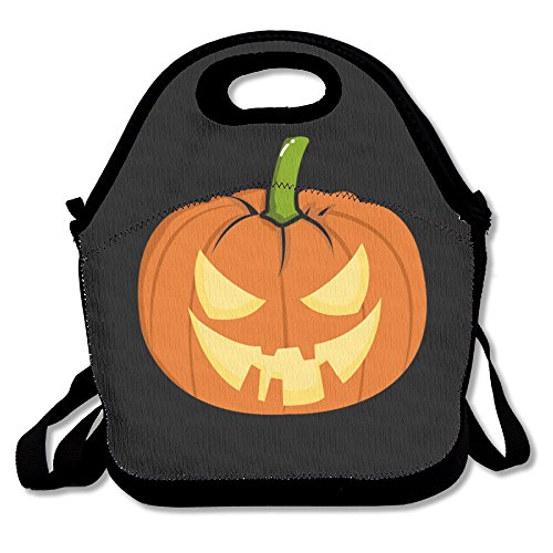Halloween Pumpkin Insulated Lunch Bag Lunch Tote Bag Travel School Picnic Lunch Box For Men & Women & Kids (Halloween Lunch For School)