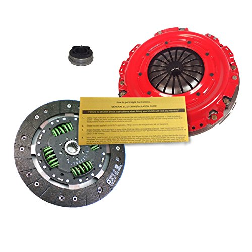 STAGE 1 MODULAR CLUTCH FLYWHEEL KIT by EFT for 2003-2005 DODGE NEON SRT-4 TURBO (2005 Dodge Neon Srt 4 Clutch Kit)