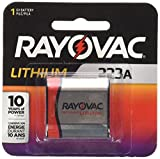 Rayovac RL223A-1  Size 223A 6V Photo Battery, 1 Pack