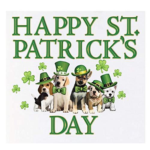 St. Patrick Dogs Garage Door Magnets