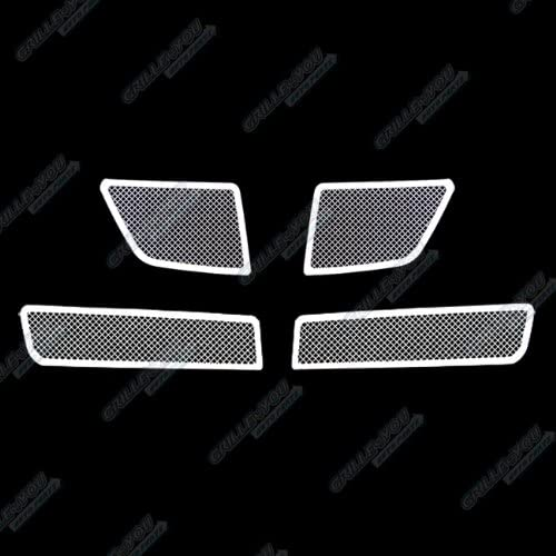 APS Compatible with 08-09 Pontiac G8 Stainless Steel Mesh Grille Insert N19-T39017P