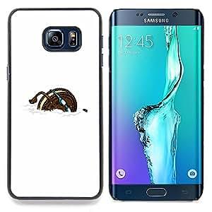 - Cookie Sports Funny Cartoon/ Duro Snap en el tel????fono celular de la cubierta - Cao - For Samsung Galaxy S6 Edge Plus