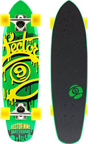 Sector 9 The 95' Complete Skateboard, Green
