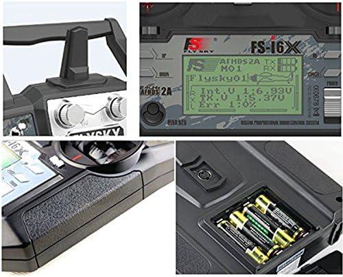 Transmetteur Flysky FS-i6X 10CH 2.4GHz AFHDS RC avec récepteur FS-iA10B