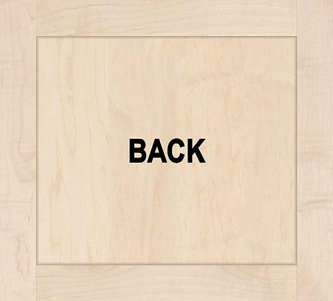 2.5W x 8D x 12H Ekena Millwork BKTW02X08X12GOAL Wood Bracket Alder