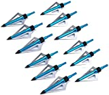Hunting Crossbow - Posch Small Game Triple Blade 100 Grain Crossbow Broadhead 3 Blade Mechanic Hunting Broadheads for Archery Arrows & Crossbow Bolts (Retail Pack)