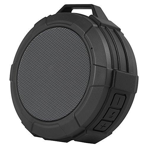 Purchase Allkeys Shower Bluetooth Speakers, Wireless Outdoor Waterproof Speaker with 5W Driver, Suct...