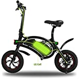 Wireless Smart E-Bike 350W 36V Folding Electric Bicycle with 12 Mile Range Cruise Control / APP Speed Setting