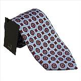 ダンヒル DUNHILL ブランド 紳士 ネクタイ シルク100% ブルー系 YPTP1PM250