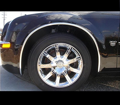 Chrome Wheel Well Fender Molding Trim Ki - Ford Expedition Trim Fender Shopping Results