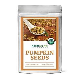 Healthworks Pumpkin Seeds Shelled Organic, 2lb